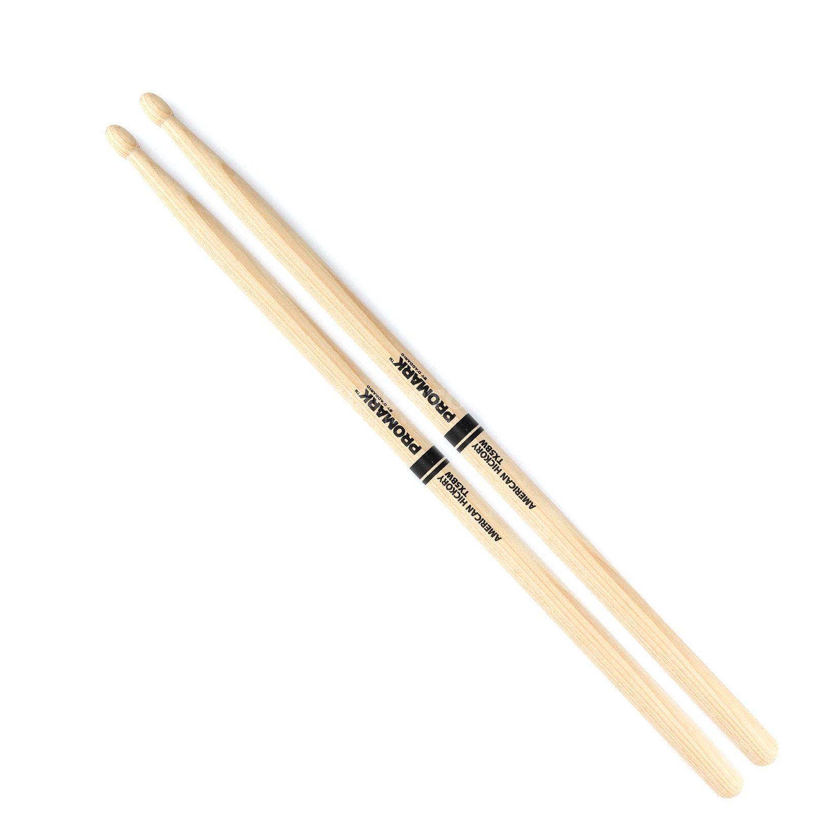 Pro Mark American Hickory 5A baquetas de percusi/ón con punta de madera